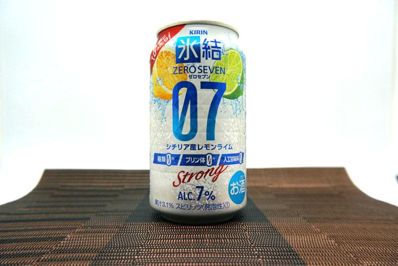 キリン 氷結®ZERO SEVEN シチリア産レモンライム 写真01